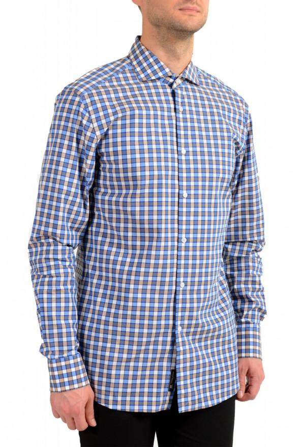 "Hugo Boss Men's ""T-Christo"" Slim Fit Plaid Long Sleeve Dress Shirt"