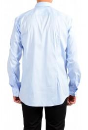 "Hugo Boss Men's ""Jango"" Slim Fit Blue Long Sleeve Dress Shirt: Picture 3"