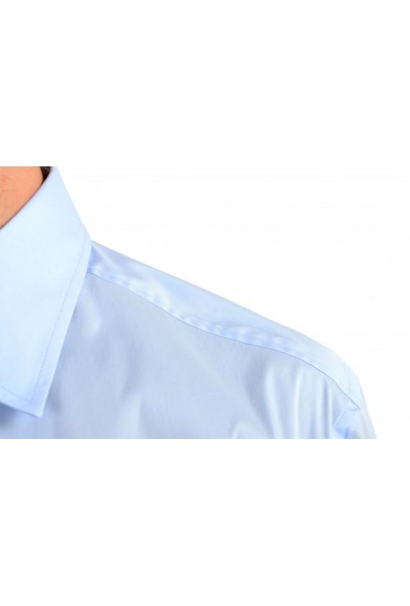 "Hugo Boss Men's ""Jango"" Slim Fit Blue Long Sleeve Dress Shirt: Picture 5"