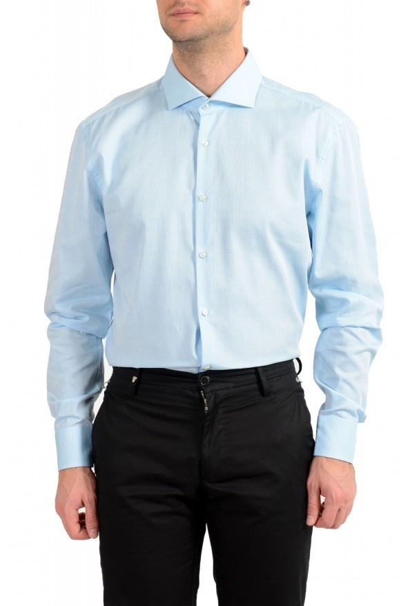 "Hugo Boss Men's ""Jerrin"" Slim Fit Blue Long Sleeve Dress Shirt : Picture 2"