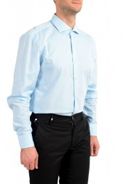 "Hugo Boss Men's ""Jerrin"" Slim Fit Blue Long Sleeve Dress Shirt : Picture 3"