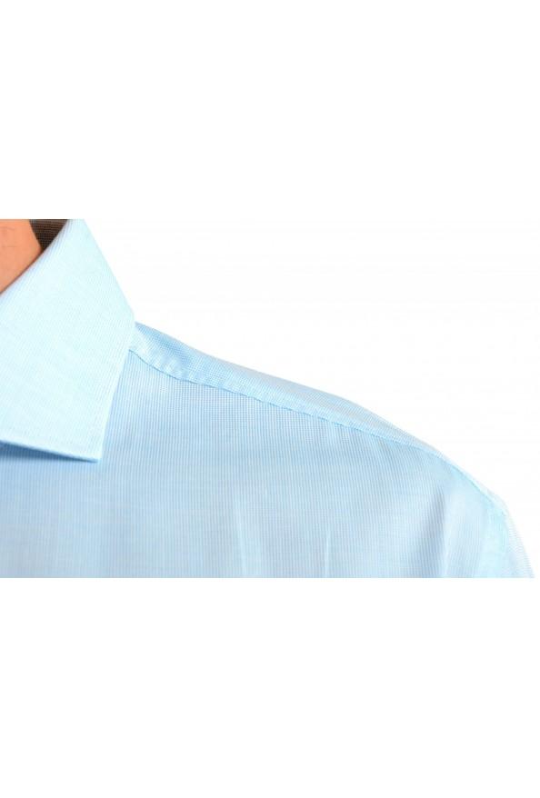 "Hugo Boss Men's ""Jerrin"" Slim Fit Blue Long Sleeve Dress Shirt : Picture 5"