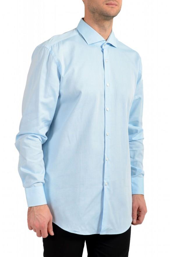"Hugo Boss Men's ""Jerrin"" Slim Fit Blue Long Sleeve Dress Shirt"