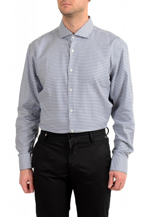 "Hugo Boss Men's ""Mark US "" Sharp Fit Plaid Dress Shirt : Picture 2"