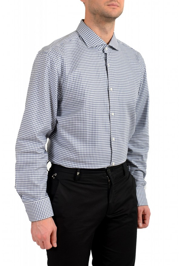 "Hugo Boss Men's ""Mark US "" Sharp Fit Plaid Dress Shirt : Picture 3"