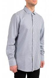 "Hugo Boss Men's ""Mark US "" Sharp Fit Plaid Dress Shirt"