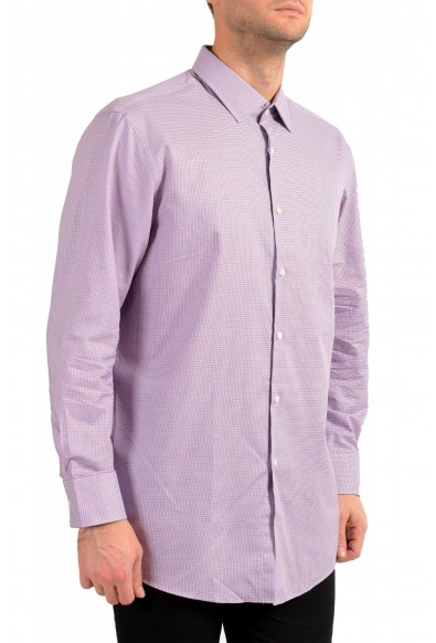 "Hugo Boss Men's ""Marley US"" Sharp Fit Plaid Dress Shirt: Picture 2"
