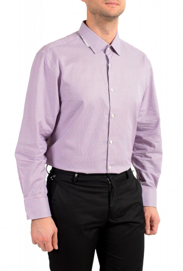 "Hugo Boss Men's ""Marley US"" Sharp Fit Plaid Dress Shirt: Picture 4"