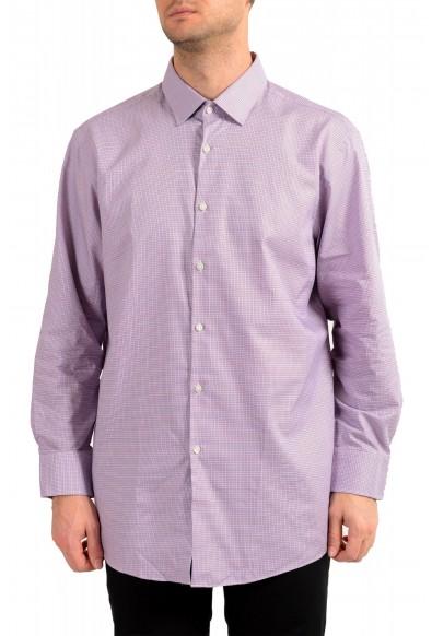 "Hugo Boss Men's ""Marley US"" Sharp Fit Plaid Dress Shirt"