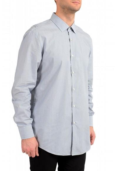 "Hugo Boss Men's ""Jenno"" Slim Fit Gray Long Sleeve Dress Shirt: Picture 2"