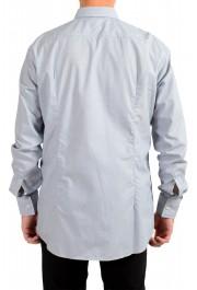 "Hugo Boss Men's ""Jenno"" Slim Fit Gray Long Sleeve Dress Shirt: Picture 3"