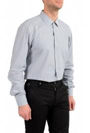 "Hugo Boss Men's ""Jenno"" Slim Fit Gray Long Sleeve Dress Shirt: Picture 4"