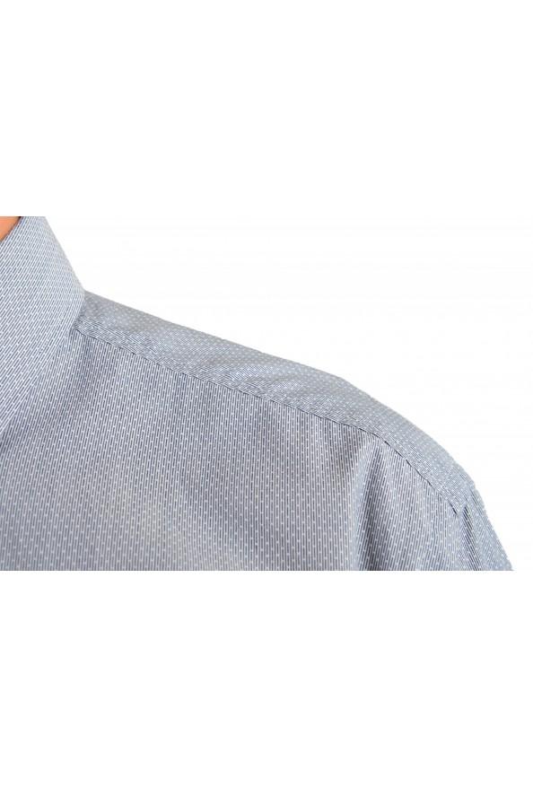 "Hugo Boss Men's ""Jenno"" Slim Fit Gray Long Sleeve Dress Shirt: Picture 5"