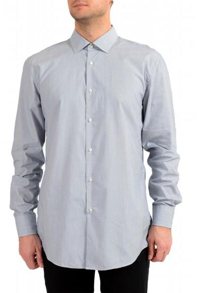 "Hugo Boss Men's ""Jenno"" Slim Fit Gray Long Sleeve Dress Shirt"