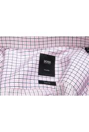 "Hugo Boss Men's ""T-Christo"" Slim Fit Plaid Long Sleeve Dress Shirt : Picture 6"