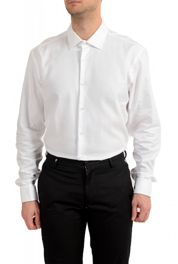 "Hugo Boss Men's ""Jacques"" Slim Fit White Long Sleeve Dress Shirt : Picture 2"
