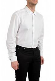 "Hugo Boss Men's ""Jacques"" Slim Fit White Long Sleeve Dress Shirt : Picture 3"