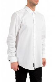 """Hugo Boss Men's """"Jacques"""" Slim Fit White Long Sleeve Dress Shirt"""