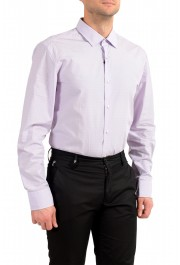 "Hugo Boss Men's ""Jenno"" Purple Long Sleeve Dress Shirt : Picture 3"