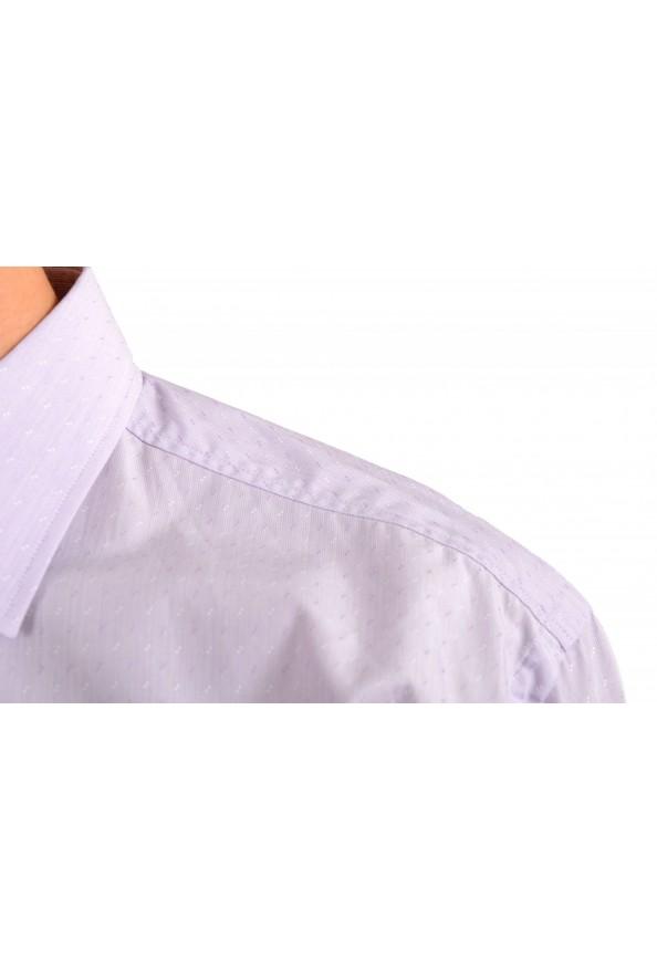 "Hugo Boss Men's ""Jenno"" Purple Long Sleeve Dress Shirt : Picture 4"