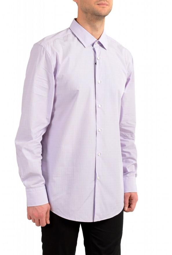 "Hugo Boss Men's ""Jenno"" Purple Long Sleeve Dress Shirt : Picture 7"