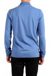 "Hugo Boss ""Pado 11"" Men's Blue Long Sleeve Polo Shirt: Picture 3"