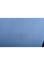 "Hugo Boss ""Pado 11"" Men's Blue Long Sleeve Polo Shirt: Picture 4"