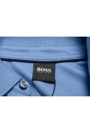 "Hugo Boss ""Pado 11"" Men's Blue Long Sleeve Polo Shirt: Picture 6"