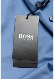 "Hugo Boss ""Pado 11"" Men's Blue Long Sleeve Polo Shirt: Picture 7"