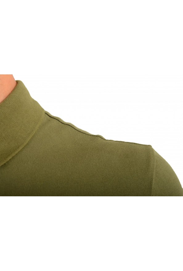 """Hugo Boss """"Passerby"""" Men's Slim Fit Green Long Sleeve Polo Shirt: Picture 4"""