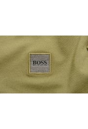 """Hugo Boss """"Passerby"""" Men's Slim Fit Green Long Sleeve Polo Shirt: Picture 5"""