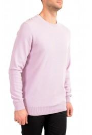 """Hugo Boss """"Ori"""" Men's Lilac Crewneck Pullover Sweater: Picture 2"""