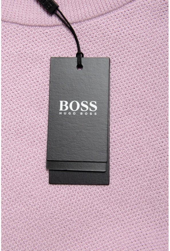 """Hugo Boss """"Ori"""" Men's Lilac Crewneck Pullover Sweater: Picture 5"""