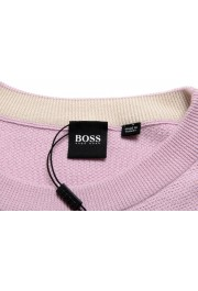 """Hugo Boss """"Ori"""" Men's Lilac Crewneck Pullover Sweater: Picture 6"""