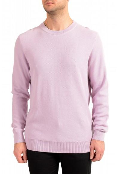 "Hugo Boss ""Ori"" Men's Lilac Crewneck Pullover Sweater"
