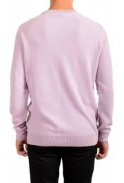 """Hugo Boss """"Ori"""" Men's Lilac Crewneck Pullover Sweater: Picture 3"""