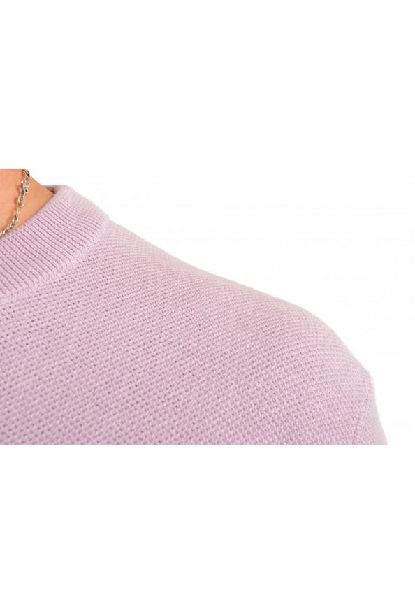 """Hugo Boss """"Ori"""" Men's Lilac Crewneck Pullover Sweater: Picture 4"""