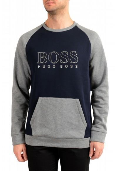Hugo Boss Conterm Sweatshirt Mens Logo Print Sweatshirt Sweater