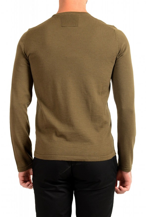 """Hugo Boss """"San Paolo 1"""" Men's 100% Wool Crewneck Pullover Sweater: Picture 3"""