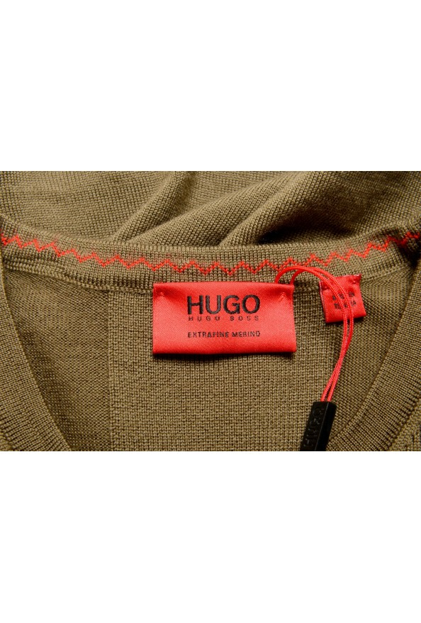 """Hugo Boss """"San Paolo 1"""" Men's 100% Wool Crewneck Pullover Sweater: Picture 5"""