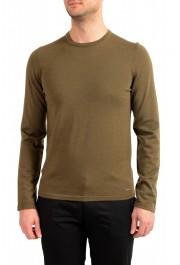 "Hugo Boss ""San Paolo 1"" Men's 100% Wool Crewneck Pullover Sweater"