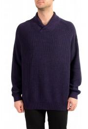 "Hugo Boss ""Afairbus"" Men's Wool Mockneck Pullover Sweater"