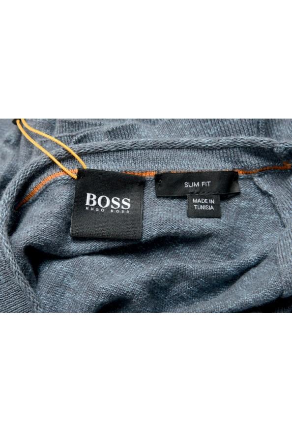 "Hugo Boss ""Kamyoda"" Men's Blue Crewneck Pullover Sweater: Picture 5"