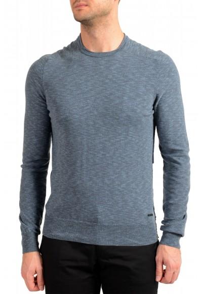 "Hugo Boss ""Kamyoda"" Men's Blue Crewneck Pullover Sweater"