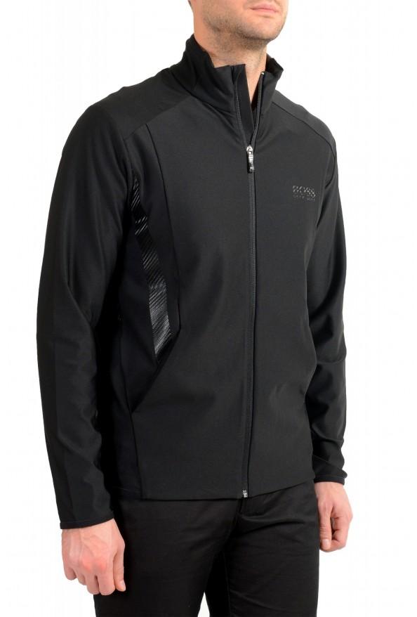 "Hugo Boss ""Sicon"" Men's Black Full Zip Track Sweater Jacket: Picture 2"