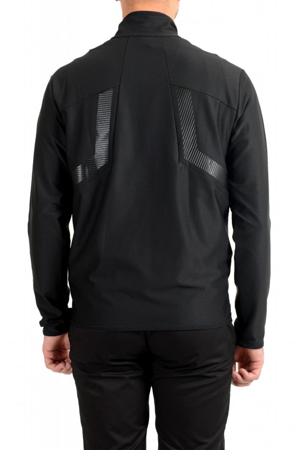 "Hugo Boss ""Sicon"" Men's Black Full Zip Track Sweater Jacket: Picture 3"