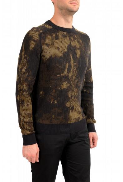 "Hugo Boss ""Kafisher"" Men's Wool Multi-Color Crewneck Pullover Sweater: Picture 2"