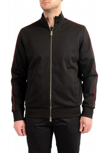 "Hugo Boss ""Scavo 41_LNV"" Men's Black Full Zip Track Sweater Jacket"