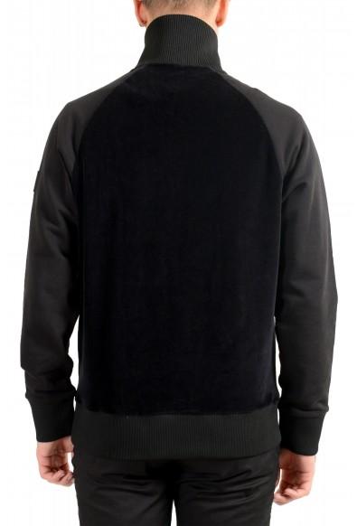 """Hugo Boss """"Sidney 38"""" Men's 1/3 Zip Velour Sweatshirt Sweater: Picture 2"""