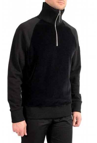 """Hugo Boss """"Sidney 38"""" Men's 1/3 Zip Velour Sweatshirt Sweater"""